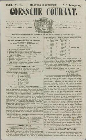 Goessche Courant 1864-11-14