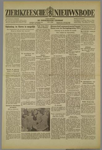 Zierikzeesche Nieuwsbode 1952-11-03