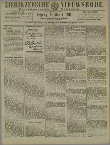 Zierikzeesche Nieuwsbode 1911-03-03