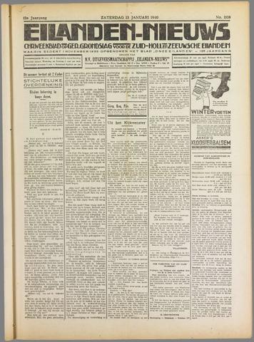Eilanden-nieuws. Christelijk streekblad op gereformeerde grondslag 1940-01-13
