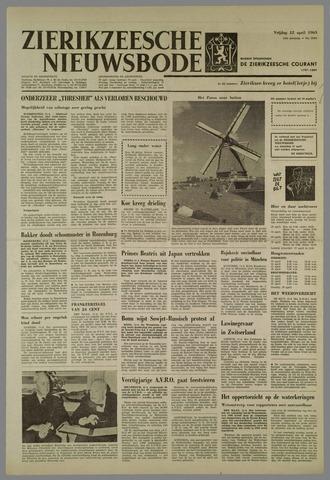 Zierikzeesche Nieuwsbode 1963-04-12