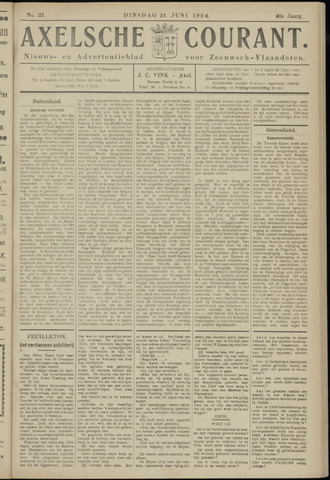 Axelsche Courant 1924-06-24