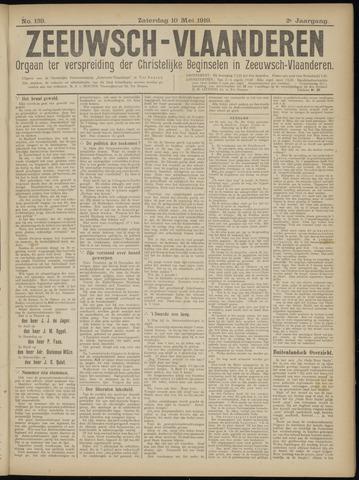Luctor et Emergo. Antirevolutionair nieuws- en advertentieblad voor Zeeland / Zeeuwsch-Vlaanderen. Orgaan ter verspreiding van de christelijke beginselen in Zeeuwsch-Vlaanderen 1919-05-10