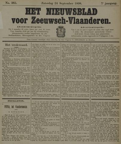 Nieuwsblad voor Zeeuwsch-Vlaanderen 1898-09-24
