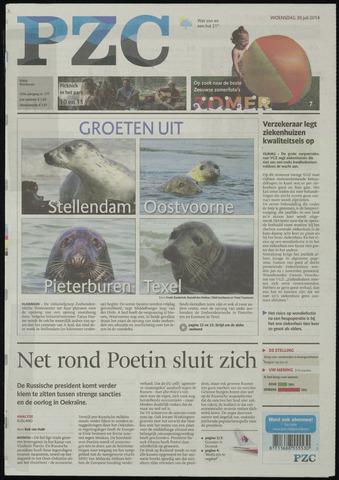 Provinciale Zeeuwse Courant 2014-07-30