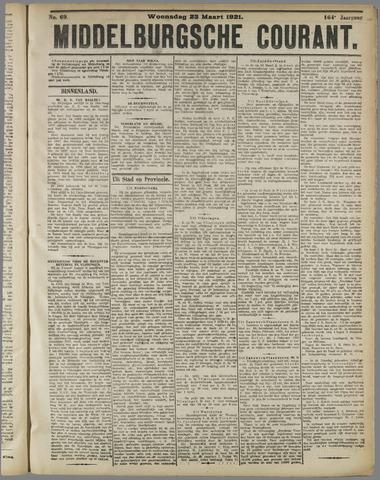 Middelburgsche Courant 1921-03-23