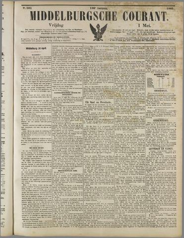 Middelburgsche Courant 1903-05-01