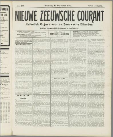 Nieuwe Zeeuwsche Courant 1905-09-13