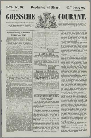 Goessche Courant 1874-03-26