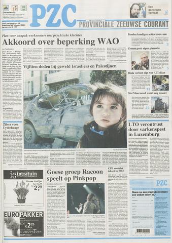 Provinciale Zeeuwse Courant 2002-02-20