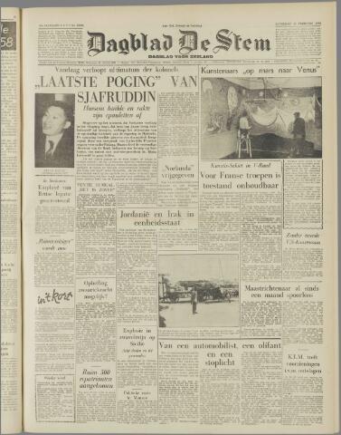 de Stem 1958-02-15