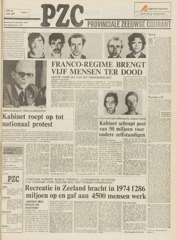 Provinciale Zeeuwse Courant 1975-09-27