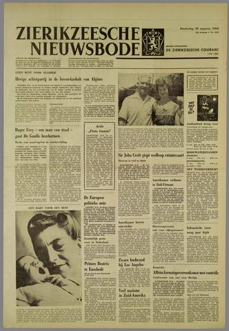 Zierikzeesche Nieuwsbode 1962-08-30