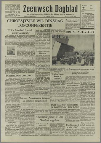 Zeeuwsch Dagblad 1958-07-21