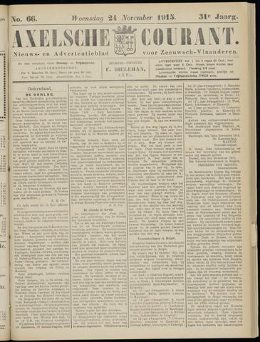 Axelsche Courant 1915-11-24