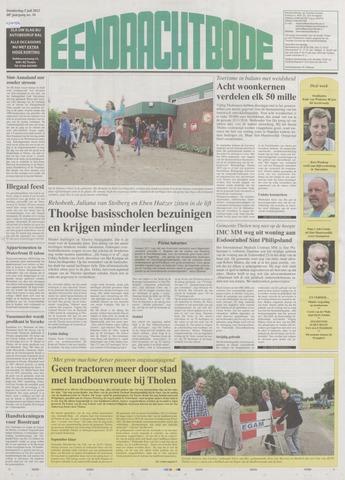 Eendrachtbode (1945-heden)/Mededeelingenblad voor het eiland Tholen (1944/45) 2012-07-05