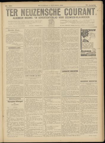 Ter Neuzensche Courant. Algemeen Nieuws- en Advertentieblad voor Zeeuwsch-Vlaanderen / Neuzensche Courant ... (idem) / (Algemeen) nieuws en advertentieblad voor Zeeuwsch-Vlaanderen 1930-10-01