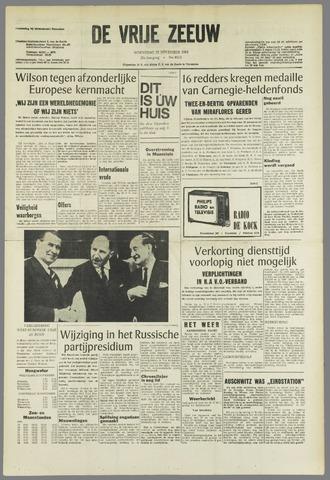 de Vrije Zeeuw 1964-11-18