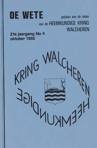 de Wete 1992-10-01