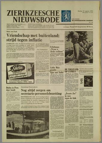 Zierikzeesche Nieuwsbode 1974-08-13