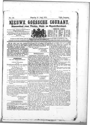 Nieuwe Goessche Courant 1870-06-21