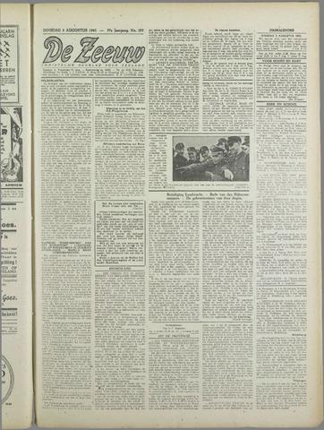 De Zeeuw. Christelijk-historisch nieuwsblad voor Zeeland 1943-08-03
