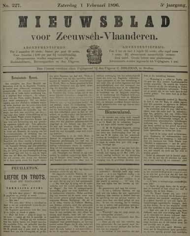 Nieuwsblad voor Zeeuwsch-Vlaanderen 1896-02-01