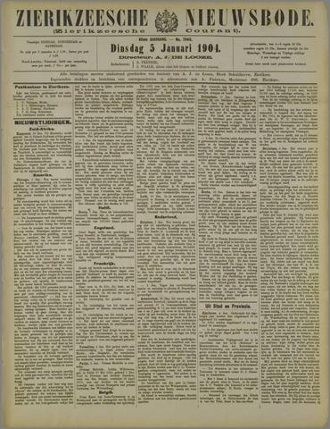 Zierikzeesche Nieuwsbode 1904-01-05