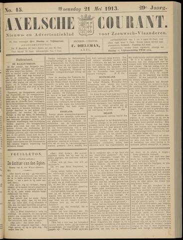 Axelsche Courant 1913-05-21