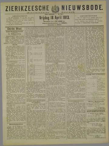 Zierikzeesche Nieuwsbode 1913-04-18