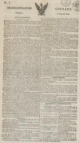 Middelburgsche Courant 1829-01-06
