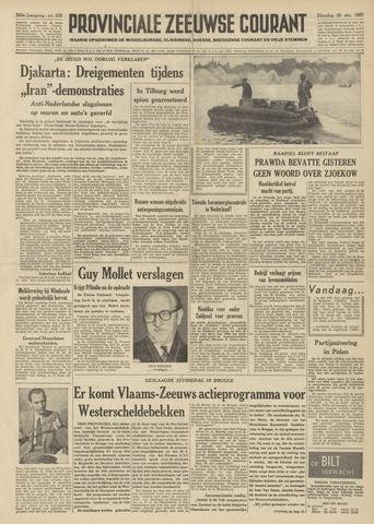 Provinciale Zeeuwse Courant 1957-10-29