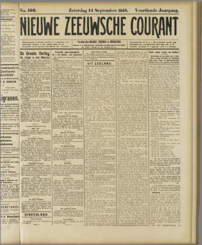 Nieuwe Zeeuwsche Courant 1918-09-14