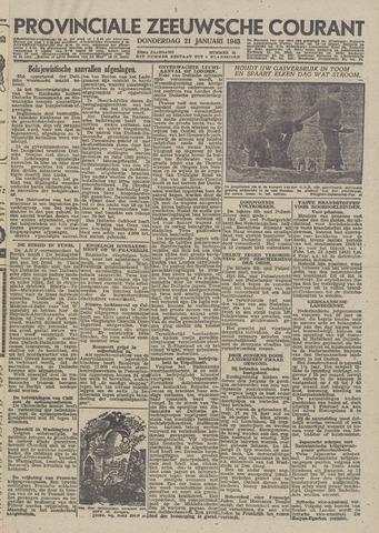 Provinciale Zeeuwse Courant 1943-01-21