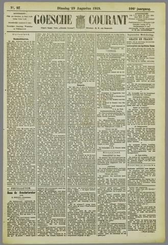 Goessche Courant 1919-08-19