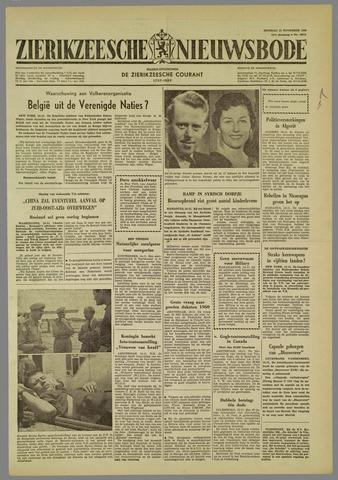 Zierikzeesche Nieuwsbode 1960-11-15