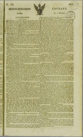 Middelburgsche Courant 1825-11-12