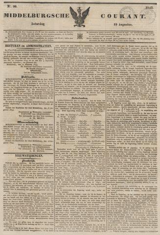 Middelburgsche Courant 1843-08-19