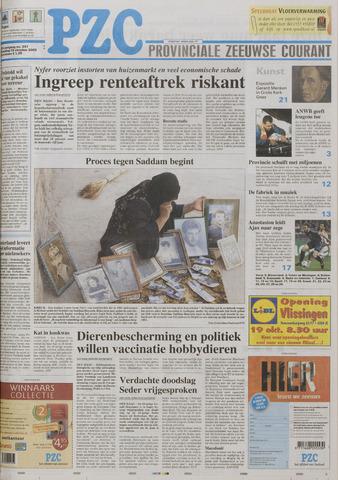 Provinciale Zeeuwse Courant 2005-10-19
