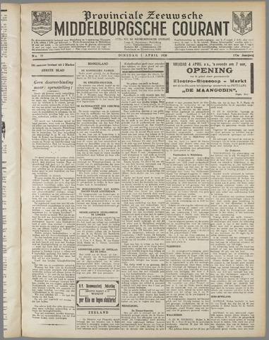 Middelburgsche Courant 1930-04-01