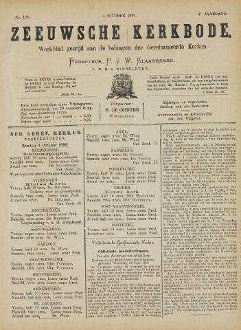 Zeeuwsche kerkbode, weekblad gewijd aan de belangen der gereformeerde kerken/ Zeeuwsch kerkblad 1890-10-04