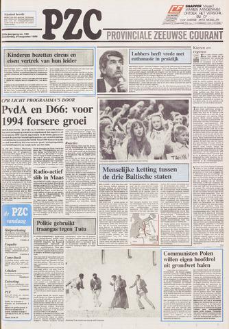 Provinciale Zeeuwse Courant 1989-08-24