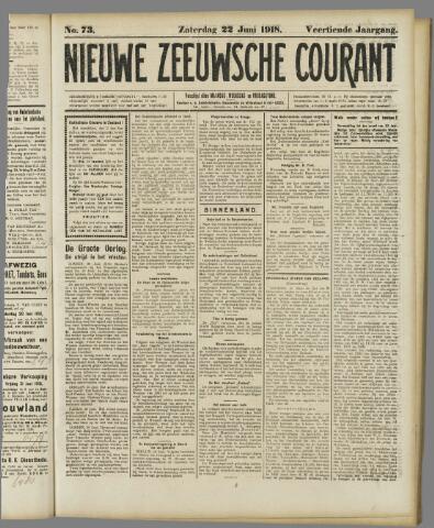 Nieuwe Zeeuwsche Courant 1918-06-22