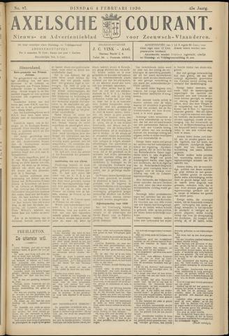 Axelsche Courant 1930-02-04