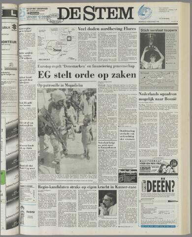 de Stem 1992-12-14