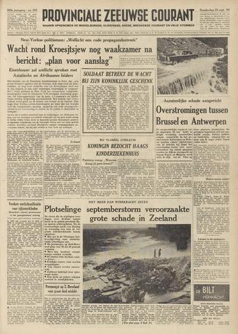 Provinciale Zeeuwse Courant 1960-09-22