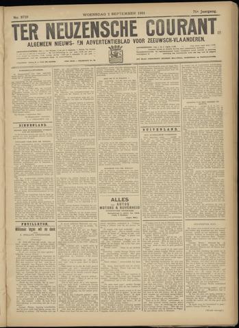 Ter Neuzensche Courant. Algemeen Nieuws- en Advertentieblad voor Zeeuwsch-Vlaanderen / Neuzensche Courant ... (idem) / (Algemeen) nieuws en advertentieblad voor Zeeuwsch-Vlaanderen 1931-09-02