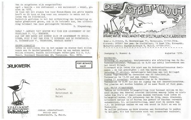de Steltkluut 1976-08-01