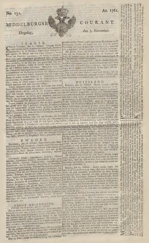 Middelburgsche Courant 1761-11-03