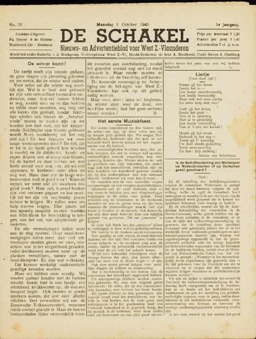 De Schakel 1945-10-01